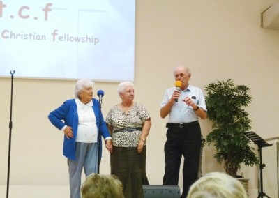 3 founder-members: Triss Warren, Sheila Newton (nee Astley), Roy Newton.