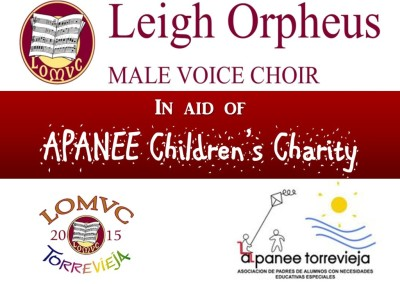 Leigh Orpheus Male Voice Choir at TCF